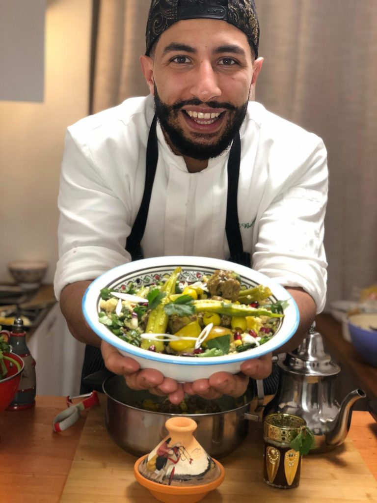 sublime food lab Lezioni di cucina online chef nabil bakouss tajine